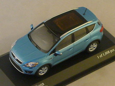 MINICHAMPS 400 087201 Ford Kuga 2008 Blue Metallic 1:43 New & Boxed