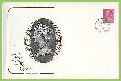 G.B. 1975 2½p 2 phosphor band definitive on Cotswold First Day Cover, Chippenham