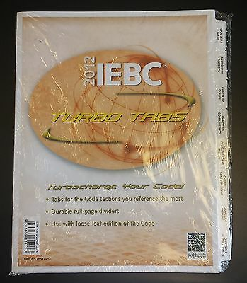 2012 IEBC International Existing Building Code Turbo Tabs (no book)