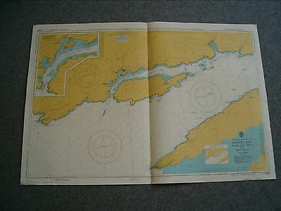 Vintage Admiralty Chart 1840 - IRELAND - BANTRY BAY TO SHOT HEAD 1979 edn