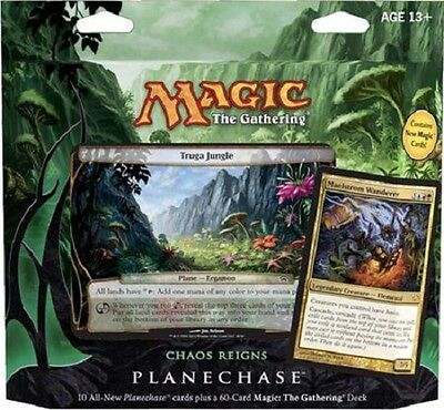 MTG - CHAOS REIGNS - Planechase 2012 Game Pack - 60 Cards Deck