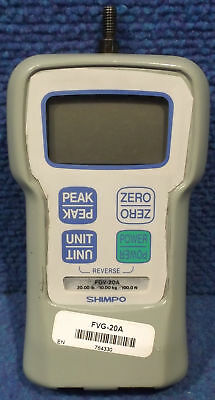 Shimpo FGV-20A (FVG-20A) Tension Meter - Used