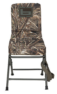 Banded Swivel Blind Chair Padded Seat Hunting Stool Realtree Max 5 Camo Reg New!