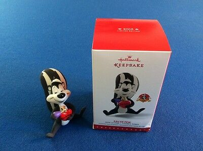 PePe Le Pew: Eau De Pew - 2015 Hallmark Keepsake ornament w-box, Limited Edition