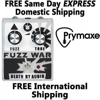 Death by Audio Fuzz War Brand New Free Domestic Express Shipping