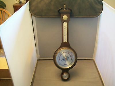 Focal Brand--W. Germany Banjo Style Weather Station--Wall Hanging