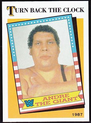 2016 Topps Heritage WWE Turn Back the Clock #2 ANDRE THE GIANT