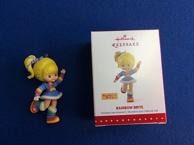 Rainbow Brite - 2015 Hallmark Keepsake Christmas ornament in original box.  New.