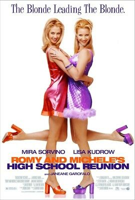ROMY & MICHELE'S HIGH SCHOOL REUNION MOVIE POSTER 2 Sided ORIGINAL ROLLED 27x40