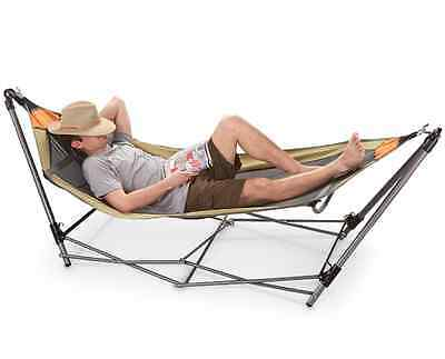 Ultra Strong Portable Folding Hammock Outdoor Travel Camping Hiking Furniture