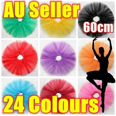 40cm Long Adults Dance Ballet Skirt Tutu Dress Party Costume Dancewear Princess