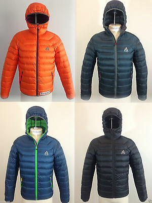 NWT Eddie Bauer Mens First Ascent Downlight Hooded Down Jacket 800 Fill Power