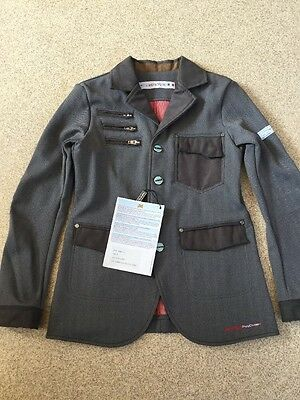 Animo Boys Age 8 Show Competition Jacket BN Grey
