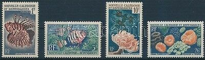 New-Caledonia stamp Fishes set MNH 1959 Mi 364-367 WS199182