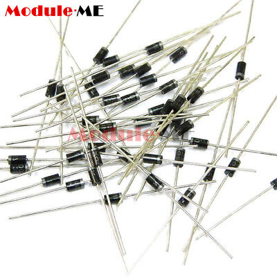 100/200/500/1000PCS 1A 1000V Diode 1N4007 IN4007 DO-41 Rectifie Diodes ME