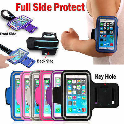 Apple Gym Running Jogging Sports Armband Arm Band Holder Case Cover For iPhone
