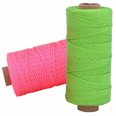 Rolson 152m Strong Brick Laying Rope Line String Building Chalk - 52607