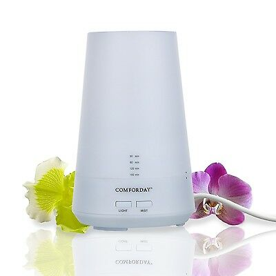 Aromatherapy Essential Oil Diffuser and Humidifier with 4 Timer Settings & 7 ...