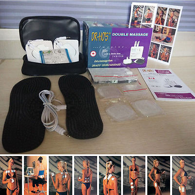 DR HO'S Dual Double Muscle Massage Therapy System Pain Relieve