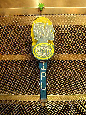 MAGIC HAT BREWING Co NEW in BOX Dream Machine IPL CRAZY HEAD TOP Beer Tap Handle