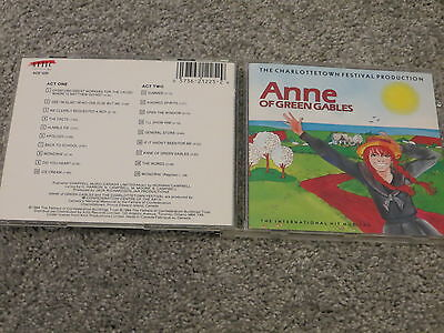 ANNE OF GREEN GABLES The MUSICAL Charlottetown Festival CD Norman Campbell 1984