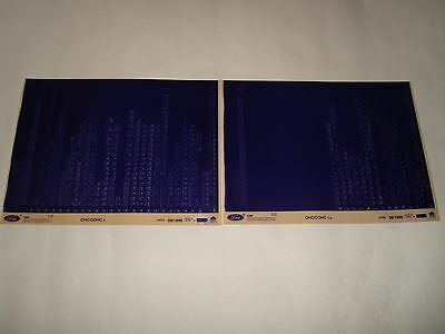 Ford Ohc & Dohc Engine Parts Microfiche Full Set Of 2 - Dated June 1999