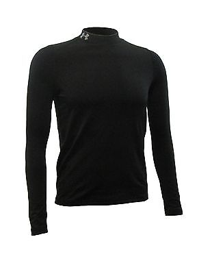NEW! Under Armour EVO ColdGear Fitted Youth Mock, Black, White (Various Sizes)