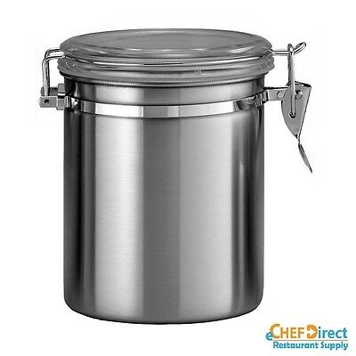 35 Oz Canister With Stainless Steel Lid - Free Shipping!!!