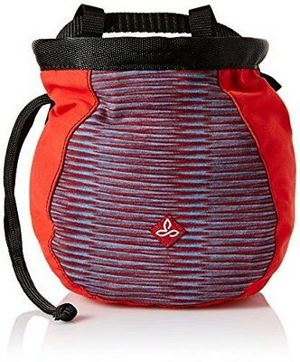 prAna Women's Large Chalk Bag With Belt, One Size, Red Ziggie