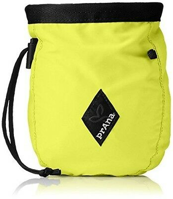 prAna Chalk Bag With Belt, One Size, Electric Lime