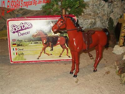 BIG JIM - Barbie Pferd - DANCER +OVP - Mustang - Horse Mattel ! Cavallo / Cheval