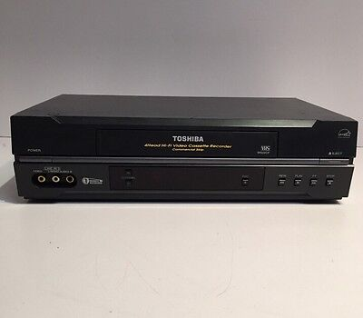 Toshiba W522CF 4 Head HIFI Stereo VCR VHS Video Cassette Recorder Player