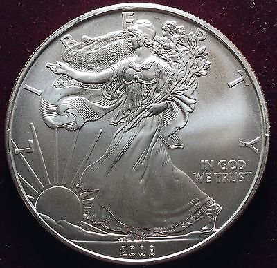 2008 1 oz Silver American Eagle (Brilliant Uncirculated)