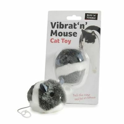 Vibrat N Mouse Cat Kitten Furry Vibrating Teaser Toy by Ruff 'N' Tumble