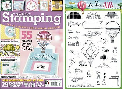 Creative Stamping Issue 33 + Free 27 Stamp Collection Up And Away