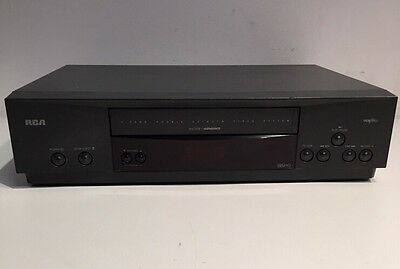 RCA VR531 4-Head HIFI Stereo VHS VCR Video Cassette Recorder Player