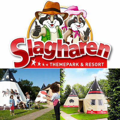 3 Day Wigwam Deluxe Leisure park Slagharen 2 Adult and max. 4 Children