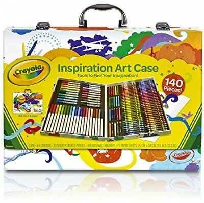 Crayola Inspiration Art Case 140 Pieces Drawing Supply Coloring Material CY-545