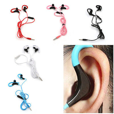 In-Ear Sports Running Active Earphone Earbuds Hook Headphone Headset For Phone