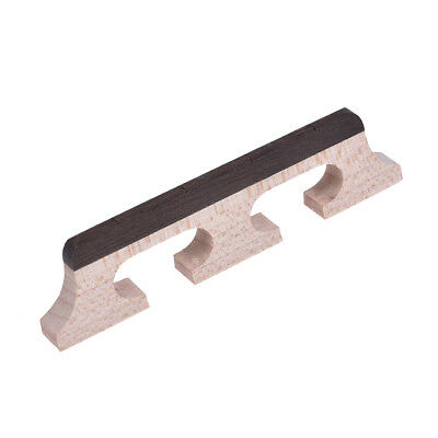 Banjo Bridge for 4 String Banjo Guitar Parts Replacement Maple and Wood