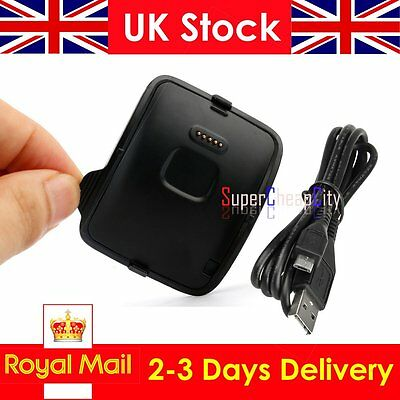 UK Charging Dock Charger Cradle For Samsung Galaxy Gear S Smart Watch SM-R750