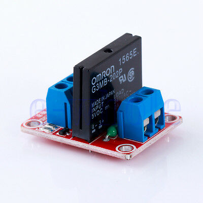 5V 1 Channel Solid State Relay Board for Arduino Uno Duemilanove MEGA WT