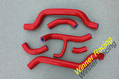FIT DUCATI 848 1098 1198 2007-2014 HIGH PERFORMANCE SILICONE RADIATOR HOSES Red