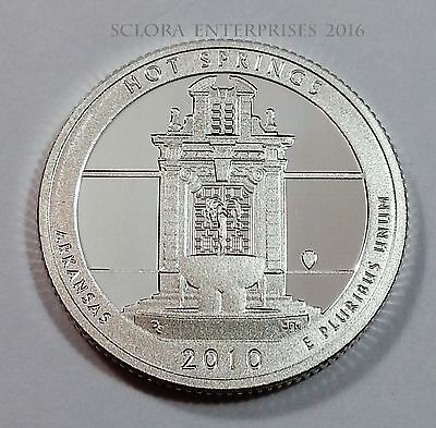 2010 S Hot Springs  *90% Silver Proof*  State Quarter   **free Shipping**