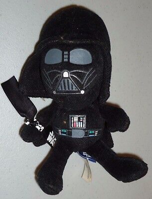 "Star Wars DARTH VADER 7"" stuffed plush toy by Galerie 2010"