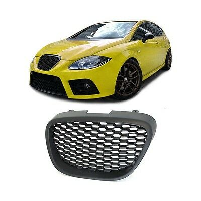 seat leon 1p altea 5p toledo badgeless debadged sport front mesh honeycomb grill eur 24 28. Black Bedroom Furniture Sets. Home Design Ideas