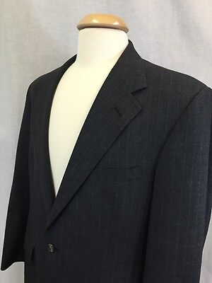 Brooks Brothers Men's Two Button S/Vent 100% Wool Blazer Jacket Size 41 Regular