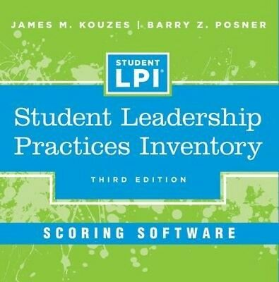 Student Leadership Practices Inventory Scoring Software by James M. Kouzes (Engl