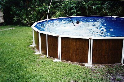 Super Swim Fitness Trainer Swim In Place Tethered To Above Ground Pool / 91192