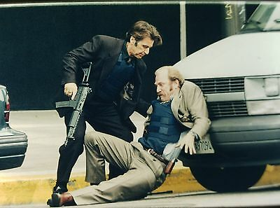 "AL PACINO & TED LEVINE in ""Heat"" - Original 35mm COLOR Slide - 1995"